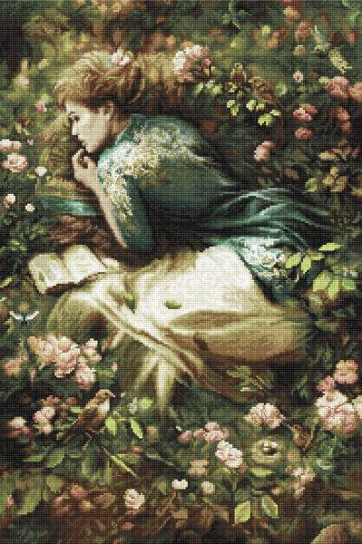 Into Dreamland Cross Stitch Kit (Luca-s) LetiStitch LETI959