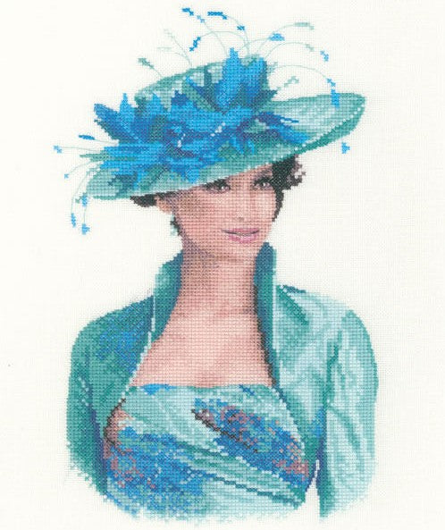 Josephine, Elegance Counted Cross Stitch Kit, John Clayton