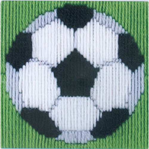 Long Stitch Kit Starter/ Beginners Football Long Stitch Kit