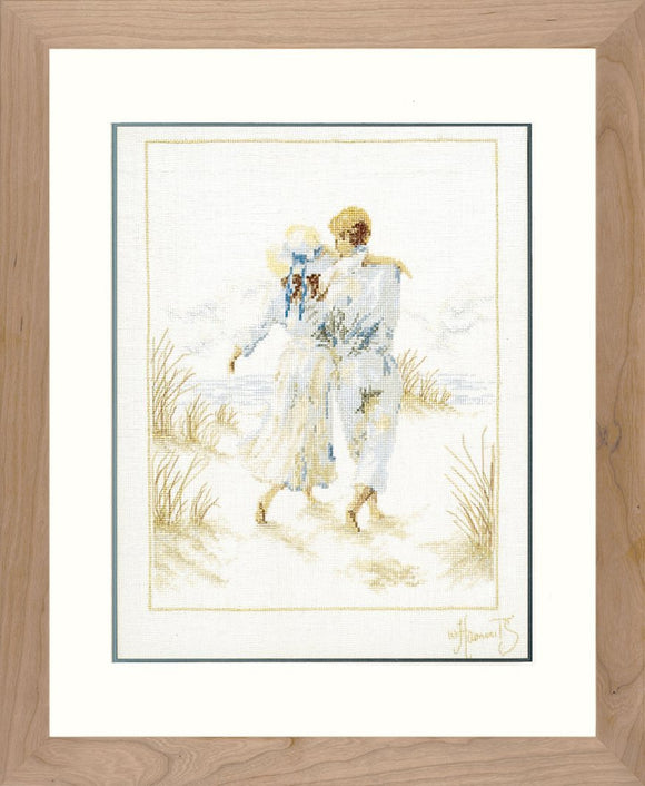 Romance by Haenraets, Counted Cross Stitch Kit Lanarte 33787