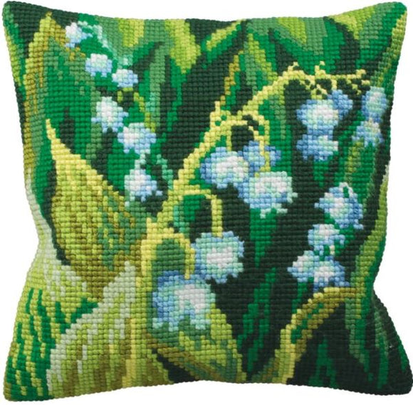 Lily of the Valley CROSS Stitch Tapestry Kit, Collection D'Art CD5120