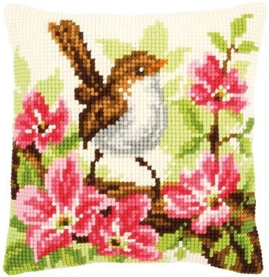 Little Wren CROSS Stitch Kit, Tapestry Kit, Vervaco PN-0148693