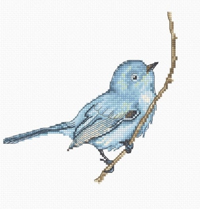 Little Bluebird Cross Stitch Kit Luca-s B1158