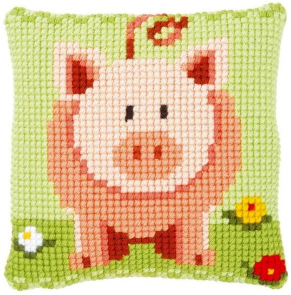 Little Piggy CROSS Stitch Tapestry Kit, Vervaco PN-0149494