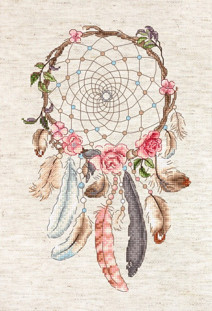 Live Your Dreams Cross Stitch Kit (Luca-s) LetiStitch LETI957