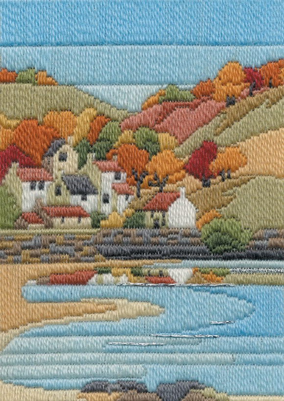 Long Stitch Kit, Coastal Autumn Long Stitch MLS7