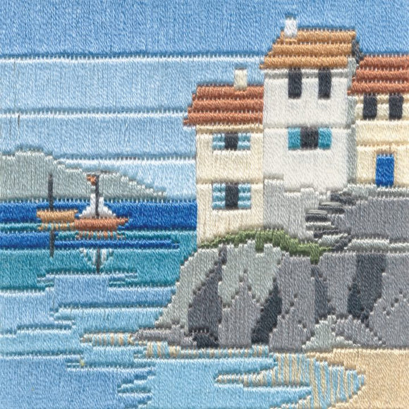 Long Stitch Kit, Headland Cottages Long Stitch SLS1
