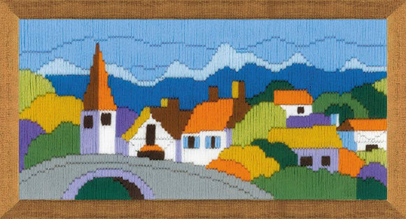 Long Stitch Kit, In the Mountains Long Stitch R1630