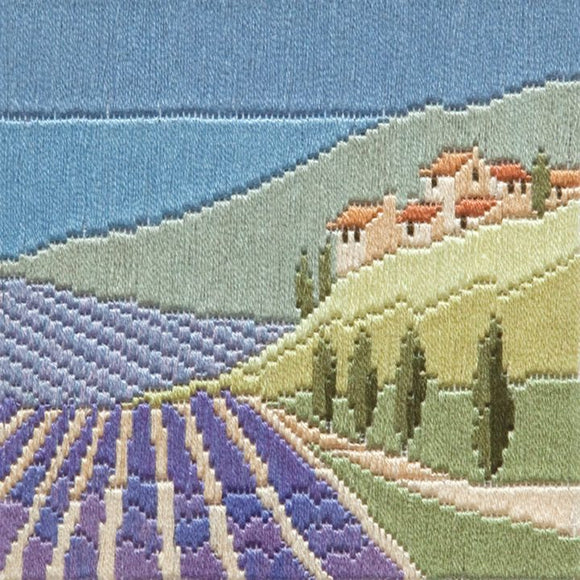 Long Stitch Kit, Lavender Fields Long Stitch SLS10