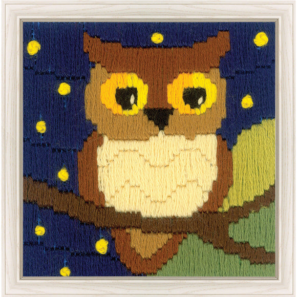 Long Stitch Kit, Owl Long Stitch Mini Kit R1715