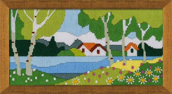 Long Stitch Kit, The Riverbank Long Stitch R1738
