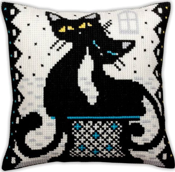 Love Cats CROSS Stitch Tapestry Kit, Collection D'Art CD5382