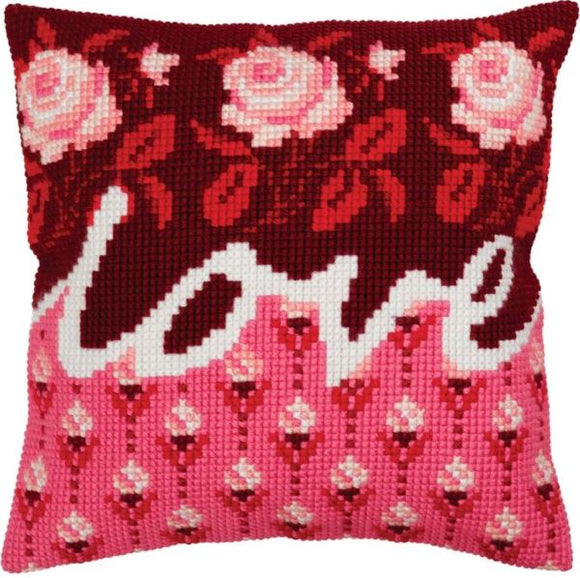 Love CROSS Stitch Tapestry Kit, Collection D'Art CD5332