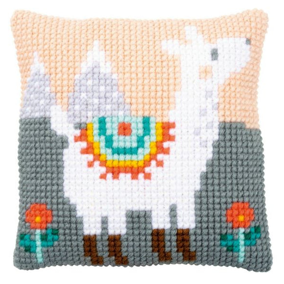 Lovely Llama CROSS Stitch Tapestry Kit, Vervaco PN-0179079
