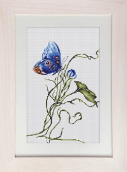 Butterfly, Emotion Counted Cross Stitch Kit, Luca-s B2242