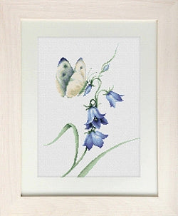 Butterfly, Summer Delight Counted Cross Stitch Kit, Luca-s B2248