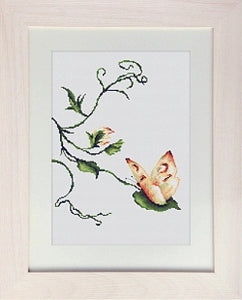 Butterfly, Delicate Touch Counted Cross Stitch Kit, Luca-s B2243