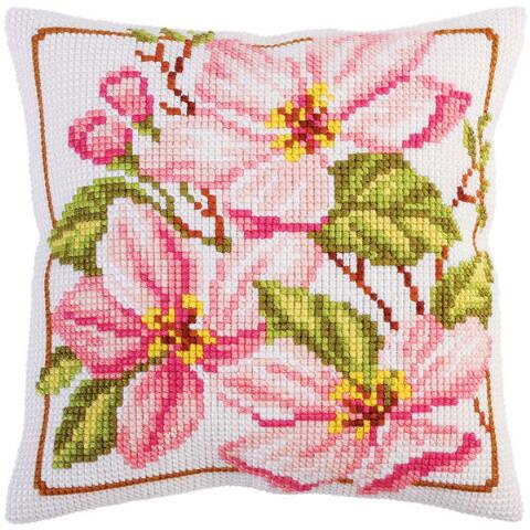 Magnolia in Bloom CROSS Stitch Tapestry Kit, Collection D'Art CD5291