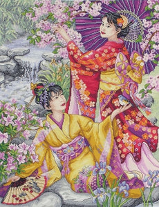 Geishas Counted Cross Stitch Kit, Maia 5678000-01025