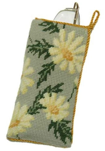Marguerite Daisies Tapestry Kit Glasses Case/Phone Case, Cleopatra's Needle