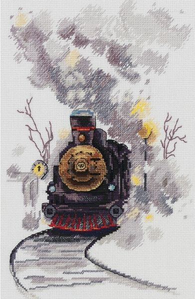 Misty Express Cross Stitch Kit, Panna GM-7070