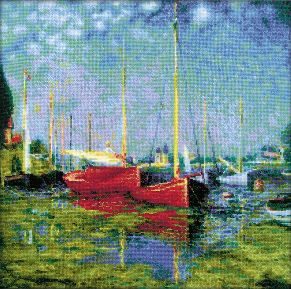 Monet, Argenteuil Cross Stitch Kit Riolis R1779