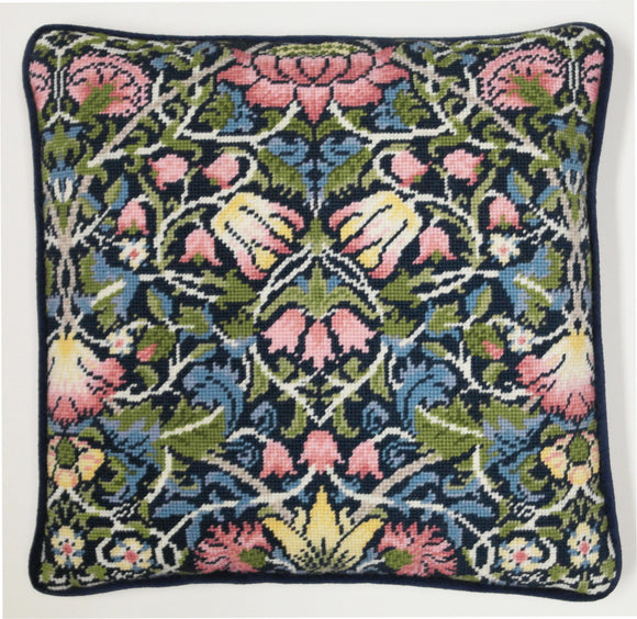 William Morris Tapestry Kit Needlepoint Kit Bellflower TAC5