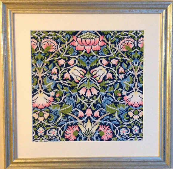 William Morris Bell Flower, Cross Stitch Kit Bothy Threads XAC5