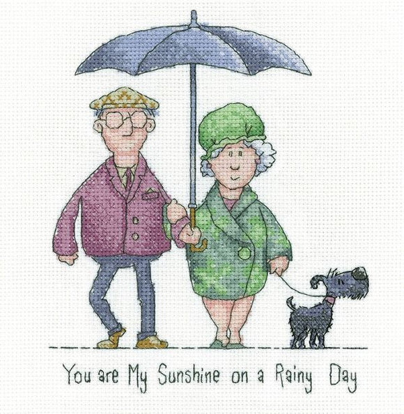 My Sunshine Cross Stitch Kit, Heritage Crafts GYMS1572