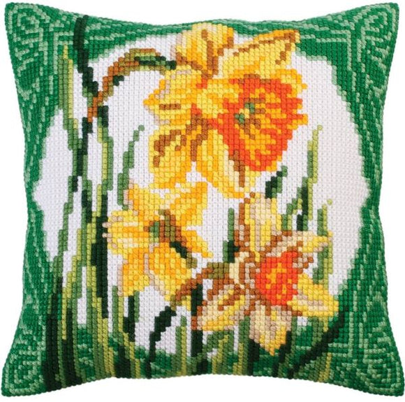 Narcissi CROSS Stitch Tapestry Kit, Collection D'Art CD5287