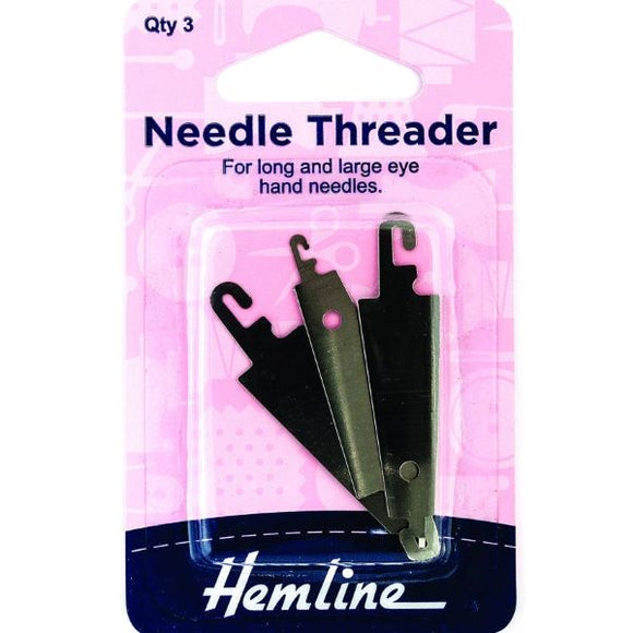 Needle Threader,  Pack of 3 Needle Threaders - H235.LL