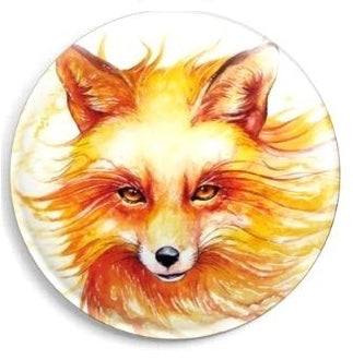 Needle Minder, Magnetic Needle Keeper, Fox by Jonas Joedicke 37mm