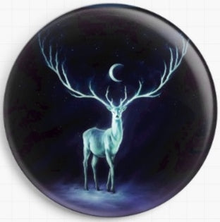 Needle Minder, Magnetic Needle Keeper, New Life Stag, JoJoes Art 37mm