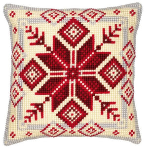 Nordic Geometric CROSS Stitch Tapestry Kit, Vervaco pn-0008494