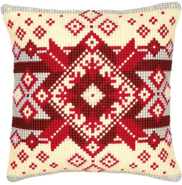 Nordic Geometric CROSS Stitch Tapestry Kit, Vervaco pn-0008495