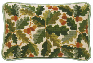 Tapestry Kit Needlepoint Kit, Acorns Lumbar Cushion Tapestry (OO)