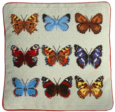 Butterfly Collection Tapestry Kit, One Off Needlework