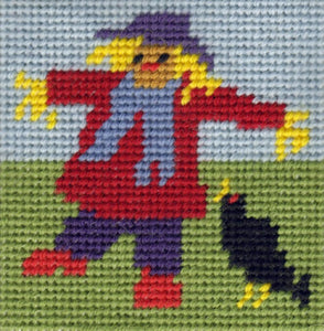Tapestry Kit Needlepoint Kit, Scarecrow Mini Starter Tapestry (OO)