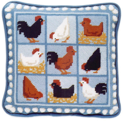 Tapestry Kit Needlepoint Kit, Blue Hens Tapestry (OO)