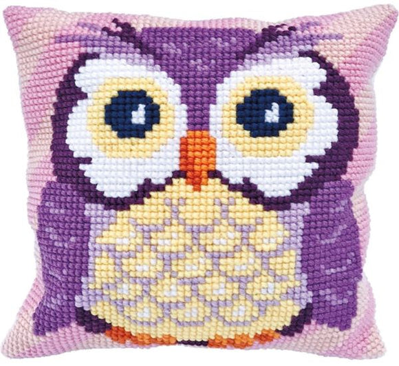 Owl CROSS Stitch Tapestry Kit, Needleart World LH9-006