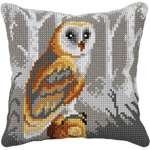 Owl CROSS Stitch Tapestry Kit, Orchidea ORC99015