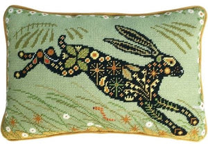 Painted Hare Tapestry Kit Needlepoint, One Off Needlework