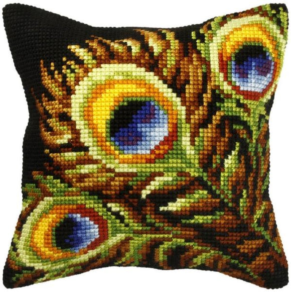 Peacock Feathers CROSS Stitch Tapestry Kit, Orchidea ORC9276