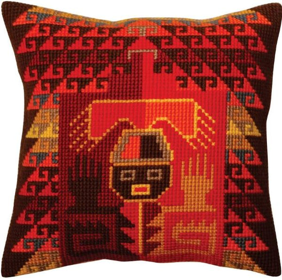 Peruvian CROSS Stitch Tapestry Kit, Collection D'Art CD5370