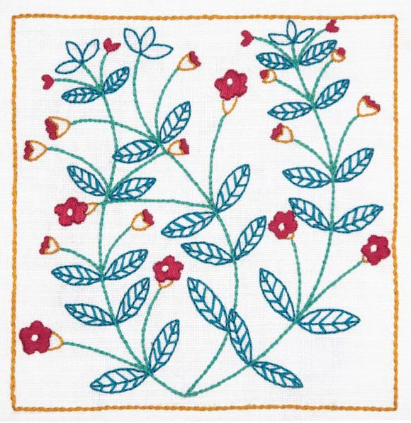 Pimpernel Embroidery Kit, Dee Hardwicke Freestyle Embroidery DEE201