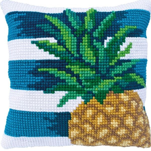 Pineapple CROSS Stitch Tapestry Kit, Needleart World LH9-020
