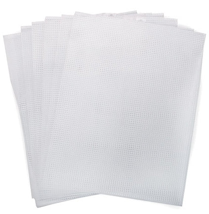 Plastic Canvas Sheets 7 count Plastic Canvas - set of 6