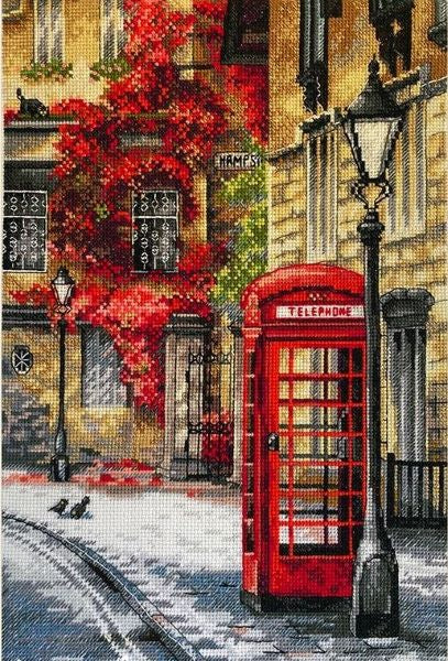 Quiet Lane Cross Stitch Kit, Merejka K-183