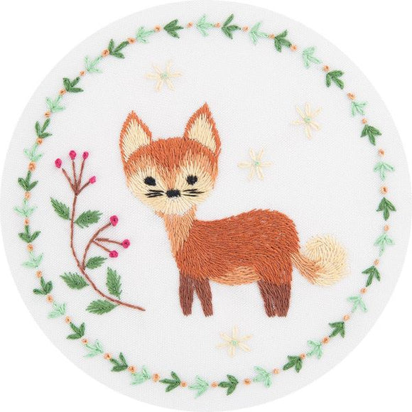 Red Fox Embroidery Kit, Panna JK-2130