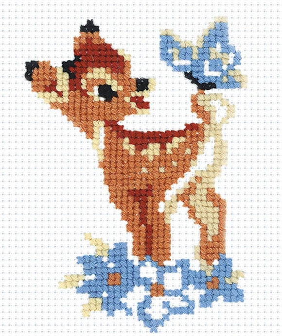 Cross Stitch Kit Bambi, Counted Cross Stitch Riolis R210
